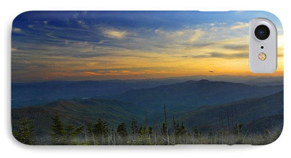 Smoky Mountain Sunset IPhone Case
