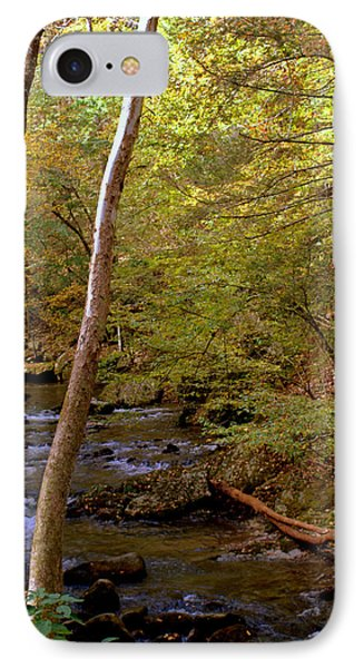 Smoky Mountains River IPhone Case by Jerry Cahill