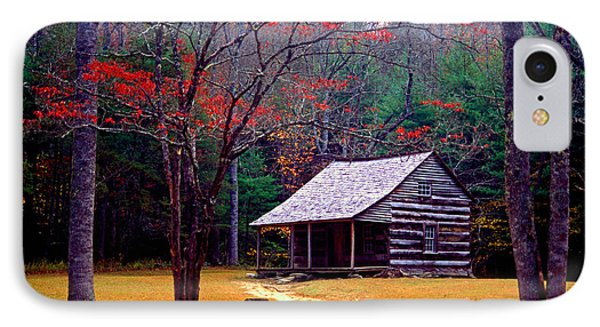 Smoky Mtn. Cabin Phone Case by Paul W Faust -  Impressions of Light