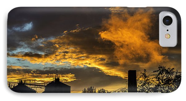 IPhone 7 Case featuring the photograph Smoky Sunset by Jeremy Lavender Photography