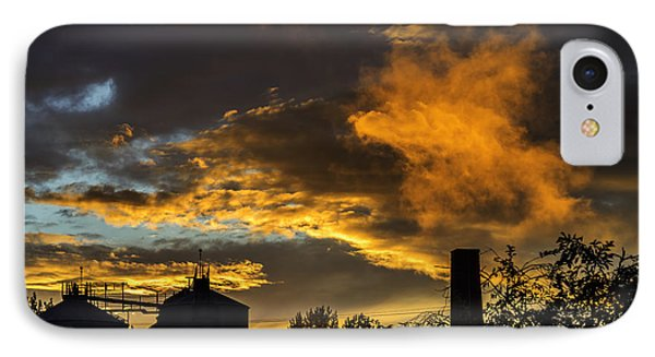 IPhone Case featuring the photograph Smoky Sunset by Jeremy Lavender Photography
