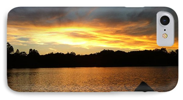 Smoldery Sunset IPhone Case