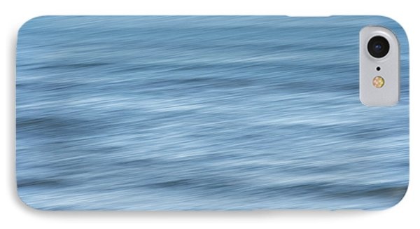 Smooth Blue Abstract IPhone Case by Terry DeLuco