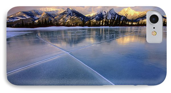 IPhone Case featuring the photograph Smooth Ice by Dan Jurak