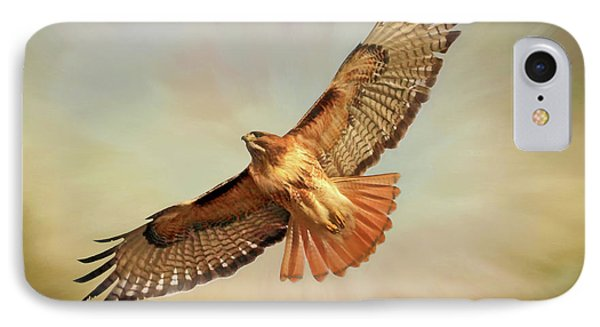 Buzzard iPhone 7 Case - Smooth Operator by Donna Kennedy