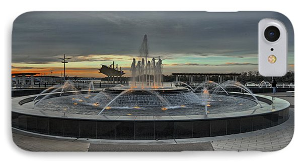 Smothers Park Fountain IPhone Case
