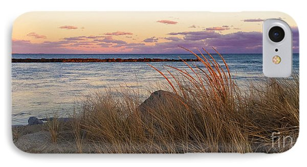 IPhone Case featuring the photograph Smugglers Beach Sunset by Michelle Wiarda