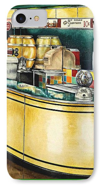 Snack Bar IPhone Case by David Neace