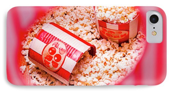 Snack Bar Pop Corn IPhone Case by Jorgo Photography - Wall Art Gallery