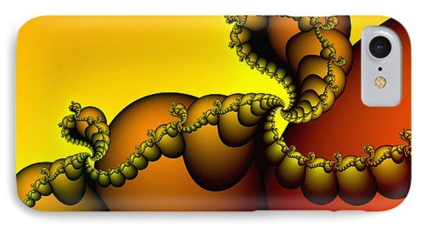 IPhone Case featuring the digital art Snails Convoy by Karin Kuhlmann