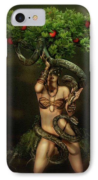 Snake Charmer IPhone 7 Case by Shanina Conway