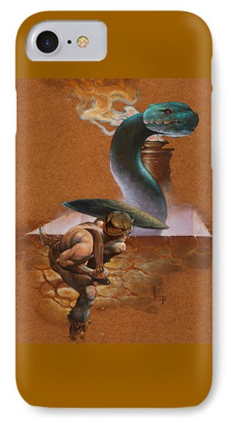 Snake Pit IPhone Case by Richard Hescox