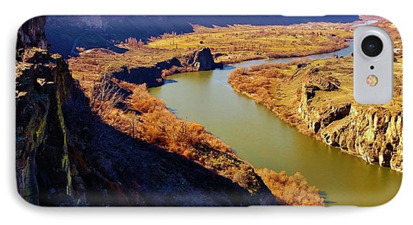 Snake River In Idaho IPhone Case