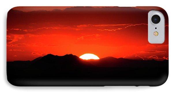 Snake River Plain Sunset Phone Case by Greg Norrell