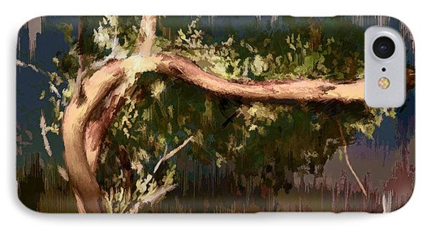 IPhone Case featuring the digital art Snake Tree by Dale Stillman