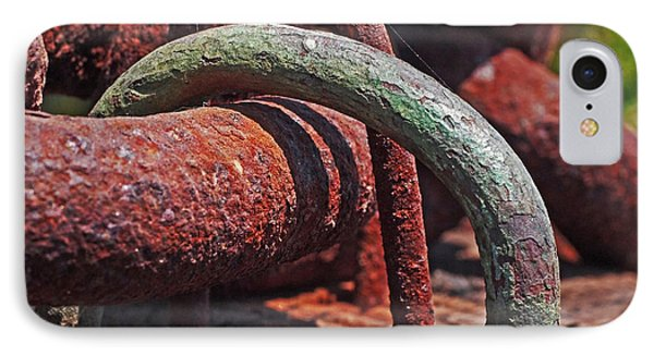 Snaking Rust  IPhone Case
