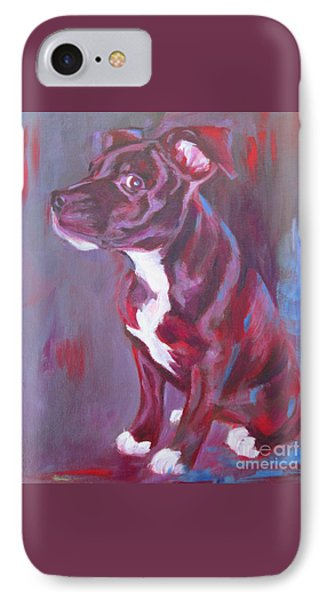 Sneaky Look - Staffy IPhone Case