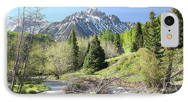 Sneffels In Springtime IPhone Case by Eric Glaser