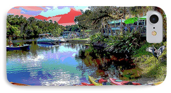 Snook Haven IPhone Case by Charles Shoup