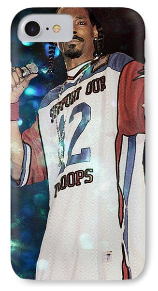 Snoop Dogg Phone Case by Ericamaxine Price
