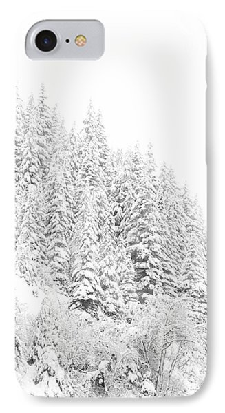 Snoqualmie Pass IPhone Case by Ann Johndro-Collins
