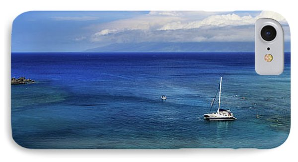 Snorkeling In Maui IPhone Case by James Eddy