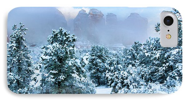 Snow 07-072 IPhone Case by Scott McAllister