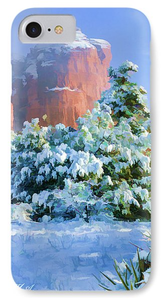 Snow 07-093 IPhone Case by Scott McAllister
