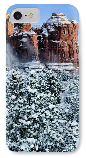 Snow 07-111 IPhone Case by Scott McAllister