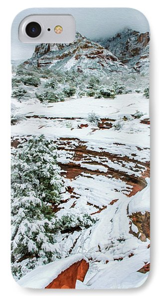 Snow 09-037 IPhone Case by Scott McAllister