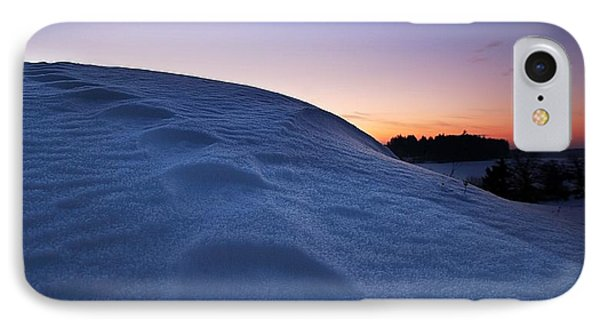 Snow Bank Phone Case by Hannes Cmarits