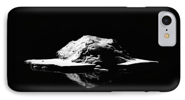 IPhone Case featuring the photograph Snow Boulder by Britt Runyon