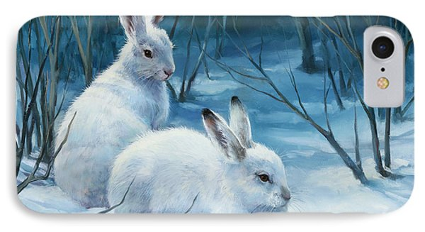 Winter Blues IPhone Case by Laurie Hein