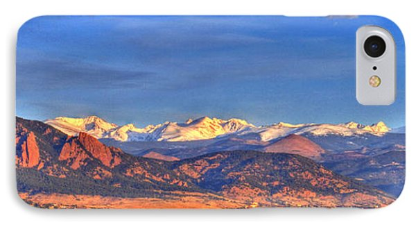 Snow-capped Panorama Of The Rockies Phone Case by Scott Mahon