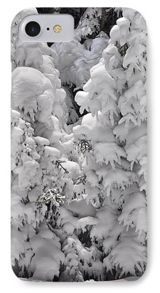 IPhone Case featuring the photograph Snow Coat by Alex Grichenko