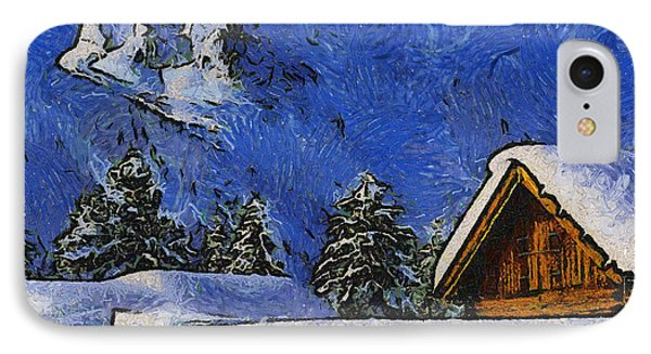 Snow Covered Phone Case by Anthony Caruso