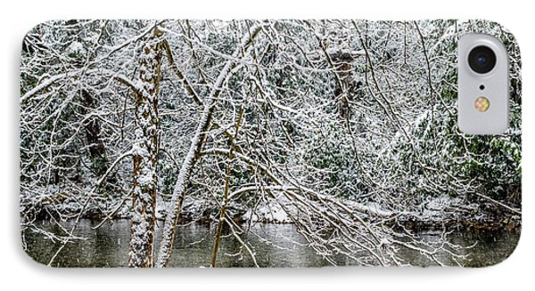 IPhone Case featuring the photograph Snow Cranberry River by Thomas R Fletcher