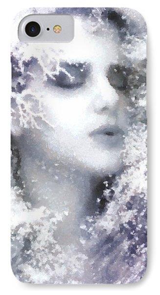 Snow Fairy  IPhone Case by Gun Legler