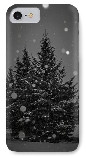 IPhone Case featuring the photograph Snow Flakes by Annette Berglund