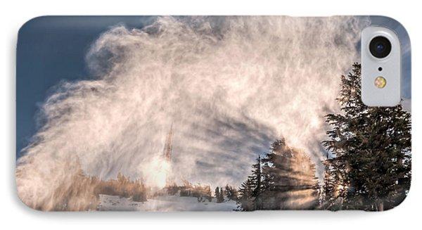 Snow Flume IPhone Case