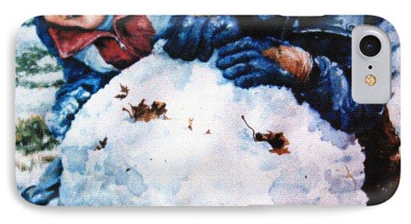Snow Fun Phone Case by Hanne Lore Koehler