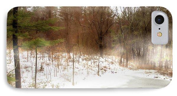 Snow In Spring IPhone Case