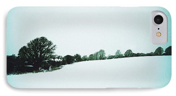 Snow In Sussex IPhone Case by Anne Kotan