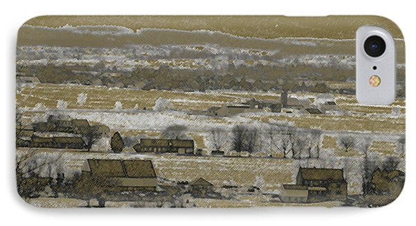 IPhone Case featuring the photograph Snow In The Valley by Vilas Malankar