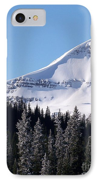 Snow Ledge Phone Case by Greg Hammond