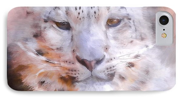 Snow Leopard IPhone Case