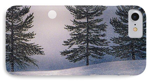 Snow Light IPhone Case by Frank Wilson