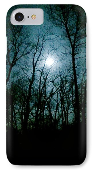 Snow Moon IPhone Case