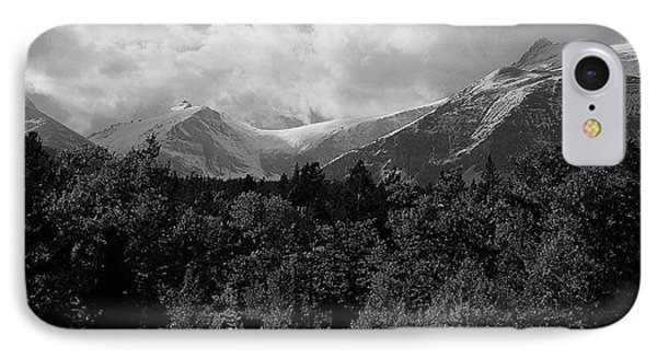Snow On The Mountains IPhone Case