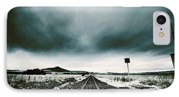 IPhone Case featuring the photograph Snow Railway by Jorgo Photography - Wall Art Gallery